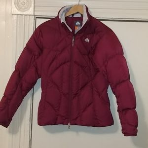 Nike ACG maroon coat